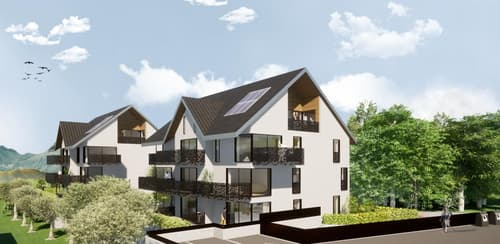 Lot A11 - Loft de 2,5 pièces au dernier étage avec un balcon d'environ 7 m2