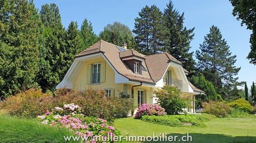 Magnifique propriété en pleine nature à Jouxtens-Mézery