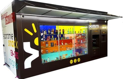 Suisse Romande : kiosk automatique Ximiti