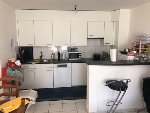 Appartement 2.5 pièces au rez, rénové en 2015