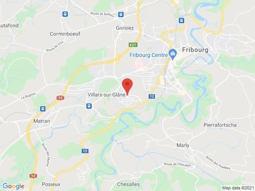 1 place de parking extérieure à louer à Villars-sur-Glâne