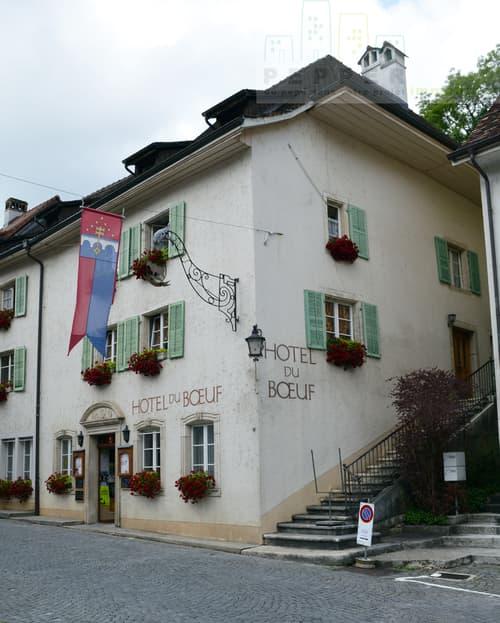 Hôtel-restaurant du Boeuf à St-Ursanne.