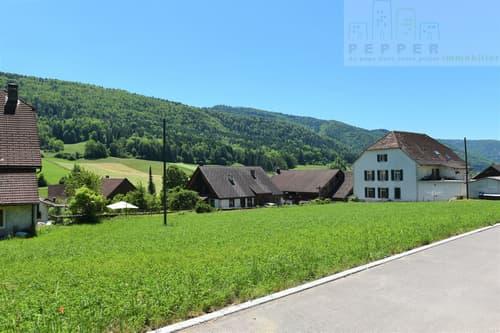 Villa individuelle dans un petit village proche de la nature.