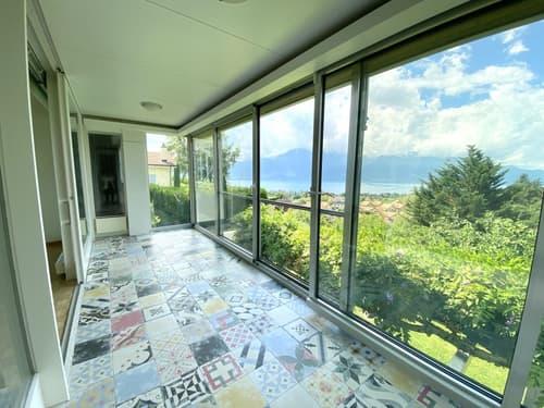 Villa individuelle de 7.5 pièces, jolie vue dégagée et grand jardin