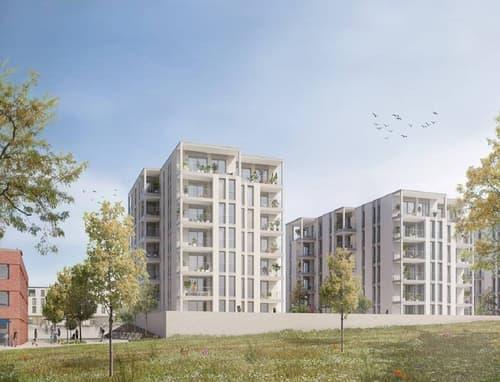 A vendre : magnifiques appartements 2.5, 3.5 et 4.5 pièces de haut standing, situés dans le premier éco-quartier du Canton de Fribourg à Marly