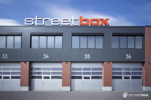 Halle modulable Streetbox - Plusieurs possibilités d'aménagement