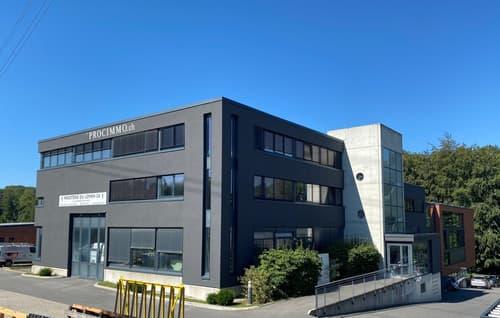 Bureaux Plug & Play de 637 m2 au Mont sur Lausanne