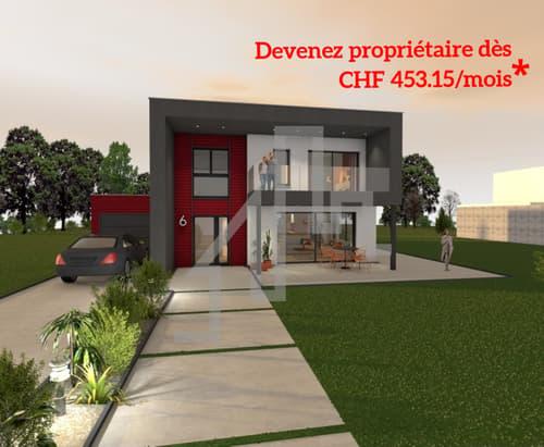 Maison sur plan finitions à choix parcelle de 650 m2. (1)