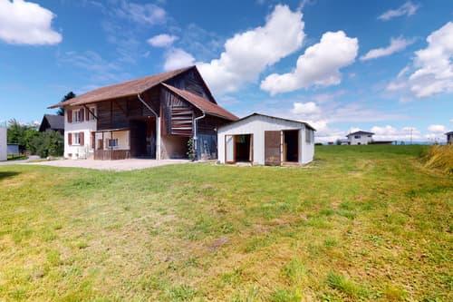 Beau potentiel pour cette habitation avec rural !