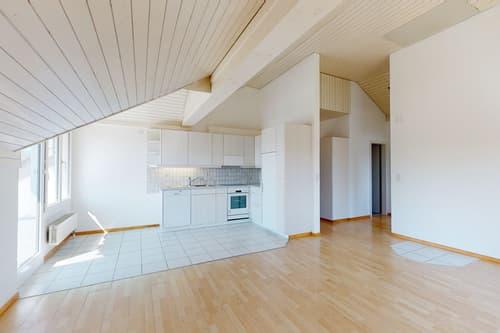 Gemütliche und gepflegte 4.5 Zimmer Dachwohnung