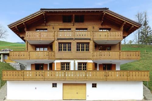 En exclusivité: Magnifique chalet de 3 appartements Duplex de standing