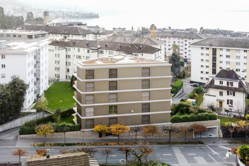 Résidence du Châtelard 9 appartements et un local commercial à Clarens