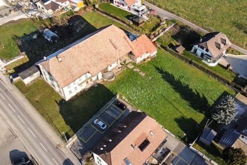 Rare : A vendre projet d'immeuble de rendement à St-Aubin !
