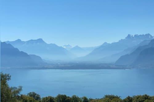 Grand duplex de 2.5 pièces avec vue sur le lac à 10 min de Vevey