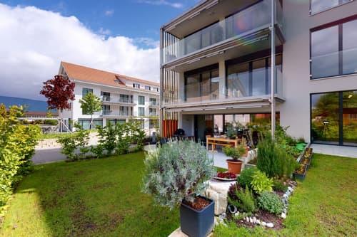 Moderne und hochwertige 3½ Zi-Wohnung mit wertvollem Aussenbereich