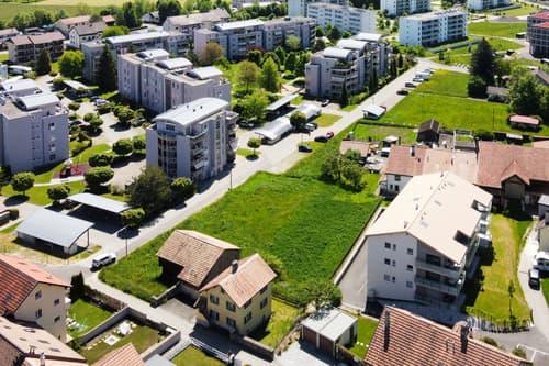 Terrain à bâtir de 1824 m2 pour nouvel immeuble >10 appartements