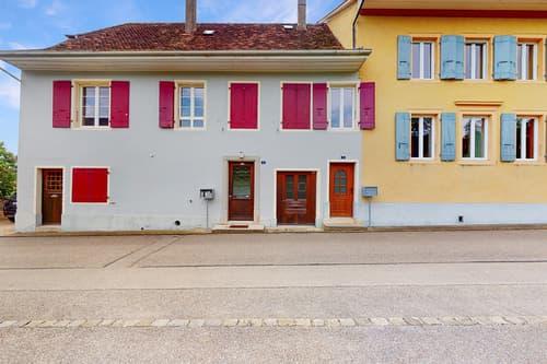 Ancienne maison de vigneron à Bonvillars !