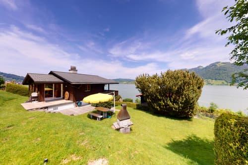 Einfamilienhaus mit Top Aussicht und mitten im Grün an ruhiger Lage