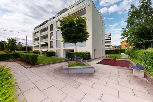 Moderne Wohnung in Zentrumslage mit privater Terrasse
