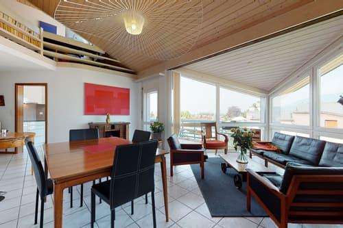 EN EXCLUSIVITÉ - Splendide duplex avec grande terrasse et jolie vue