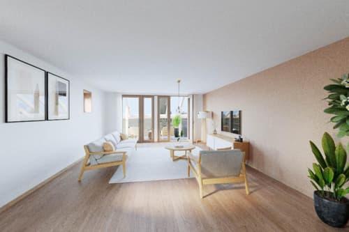 Le Clos du Soleil - Lot 10 - Duplex traversant avec balcon