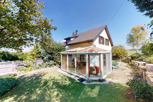 Charmante maison jumelle avec jardin d'hiver à Arconciel !