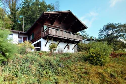 Rare à la vente -Chalet avec vue et terrasse à Chardonne-Mont-Pélerin
