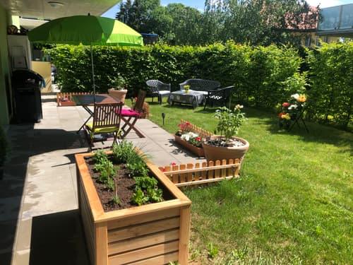 Très bel appartement de 3.5 pces avec terrasse et jardin / Romont/FR