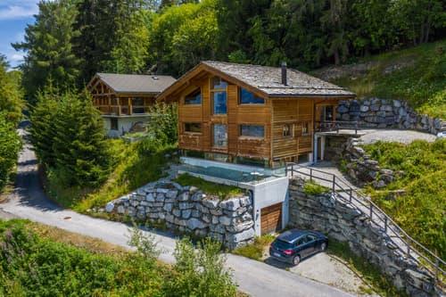 A stunning alpine retreat.