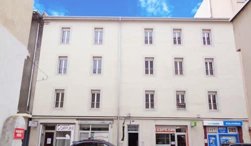 Immeuble mixte rénové proche de la gare d'Annemasse