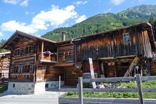 Walserhaus in Monbiel