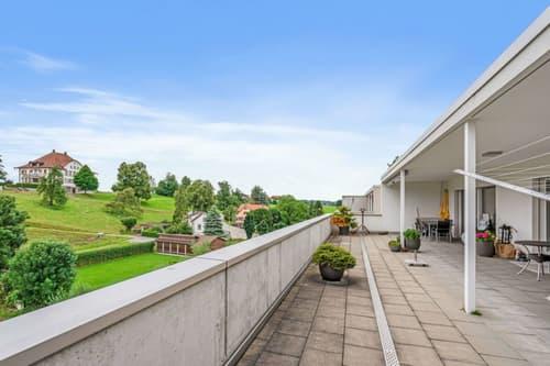Scha(r)fe Aussichten über den Dächern von Neukirch!
