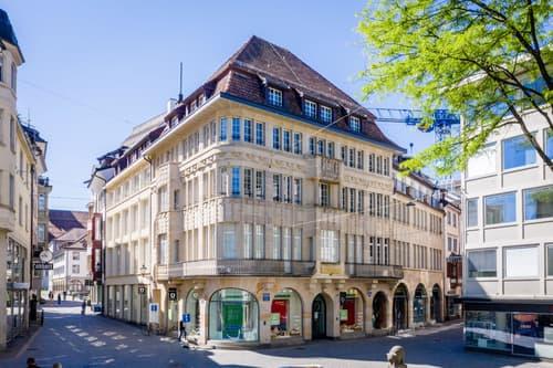 Büroräumlichkeiten mit Charakter im Herzen der Stadt St. Gallen!
