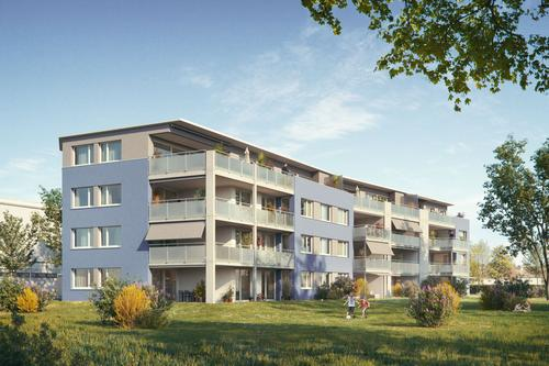 4.5 Zimmer- ATTIKA-Wohnung - im Langäcker in Sitterdorf - NEUBAU