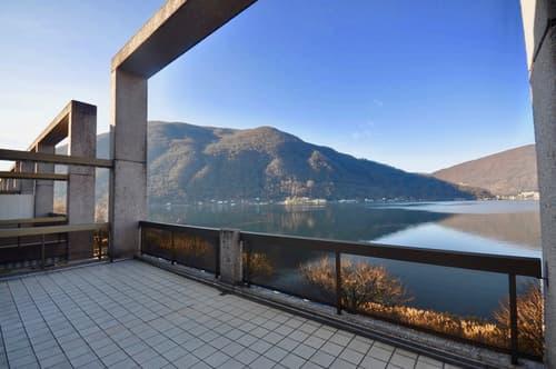 """Attico Duplex nella Residenza """"Fortuna"""" direttamente al lago di Lugano"""