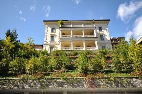 Villa Clelia - Attico con Vista Lago di Lugano in Palazzo d'Epoca
