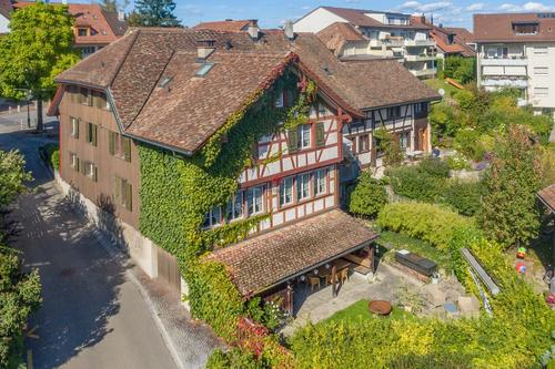 Historisches Riegelhaus mitten in der Altstadt