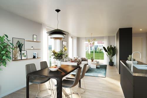 Grosszügige 2.5 Zimmer-Gartenwohnung an attraktiver Lage (1)