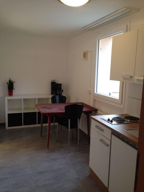 2-Zimmer-Studio-Wohnung im Zentrum von Leimbach (möbliert)