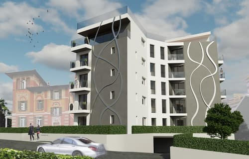 Nuovo e moderno progetto residenziale
