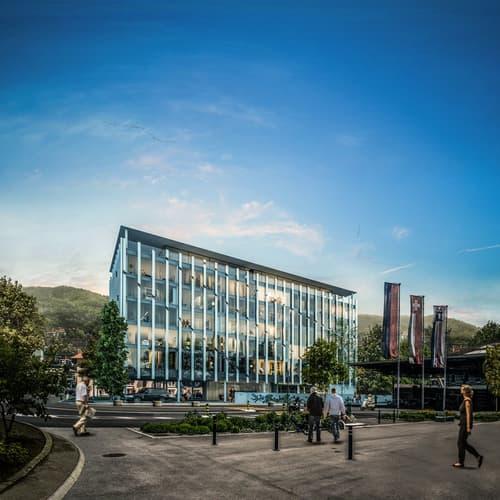 Nuovo e moderno centro amministrativo e commerciale