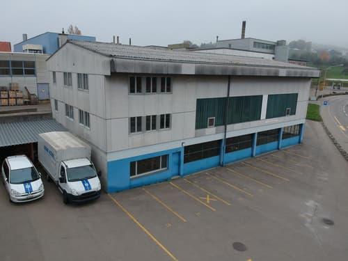 Geschäftsgebäude mit Werkstatt und Büroräumen