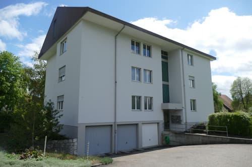 Geräumige 3.5-Zimmerwohnung in Gunzgen zu vermieten