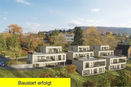 Schöner Wohnen am Bach - Moderne Wohnhäuser in grüner Umgebung