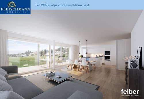 3.5-Zimmer-Wohnungen in neuer Überbauung