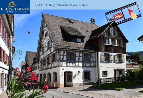 Historisches Mehrfamilienhaus am wunderschönen Unterseeufer