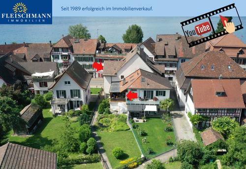 Historisches Mehrfamilienhaus im Dorfkern, Nähe zum See