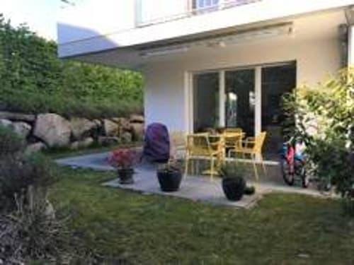 A visiter absolument, appartement de 4,5 pièces avec jardin, au calme