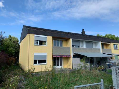 Eckeinfamilienhaus mit Garten und sep. Garage