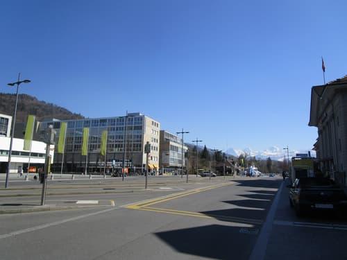 Bahnhofplatz Thun